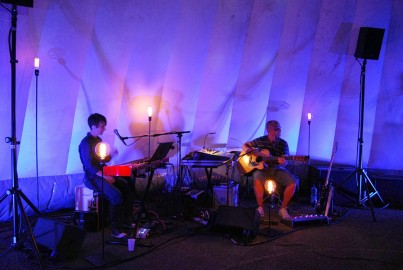 TeenSpace intérieur 2 musiciens